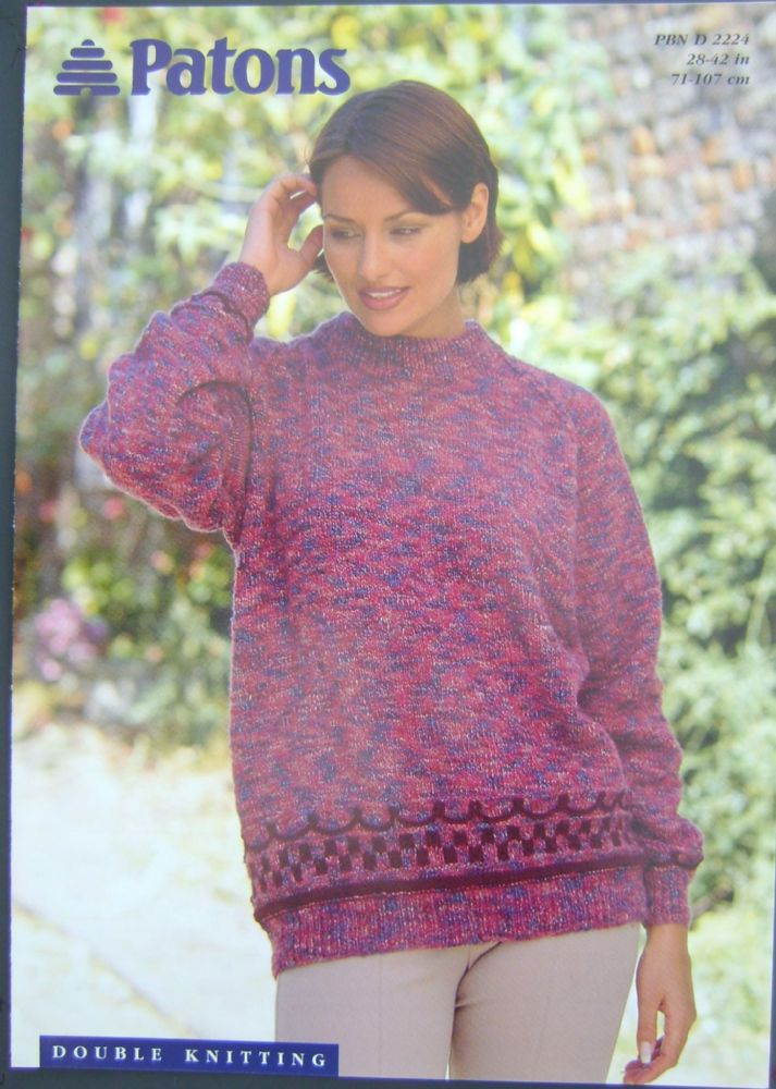 Patons Knitting Pattern 2224